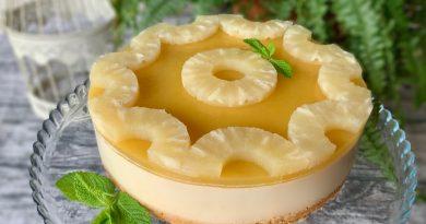 Cheesecake Vegana ananas e zenzero | Filippo Prime