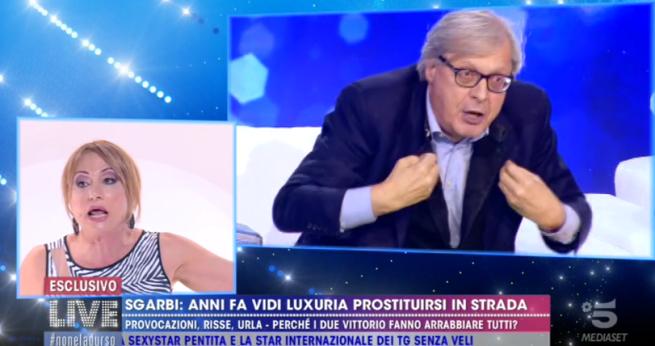 Sgarbi e Feltri contro Vladimir Luxuria, che brutta pagina di TV | Io vi consiglio di guardare il video di Daniel Greco #StopOmofobia