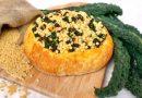 Fregula con cavolo nero e lenticchie rosse | Vegan | Filippo Prime