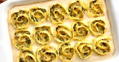 Girelle di lasagna con zucchine, menta e cavolfiore | Vegan | Filippo Prime