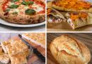 Pizza, calzone, focaccia e pane! L'impasto unico per fare a casa tante delizie