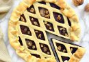 Torta salata radicchio, noci e formaggio di anacardi | Vegan | Filippo Prime