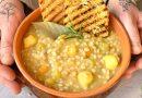 Zuppa di orzo e patate | Vegan | Filippo Prime