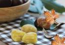 Specialità autunnale: la ricetta facile per preparare le castagne bollite