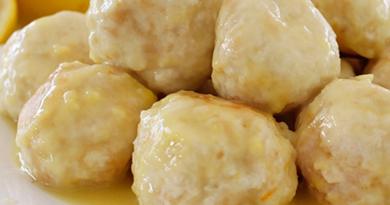 Polpette al limone. Ricetta gustosa per un secondo piatto leggero