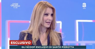 """ESCLUSIVO """"Ogni Mattina"""": Alessia Marcuzzi al timone di Scherzi a Parte – Fiori d'arancio per Arisa"""
