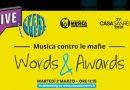Con il contributo di Roberto Vecchioni Musica contro le mafie, dagli studi televisivi di CASA SANREMO 2021, premia i vincitori dell'11^ Edizione