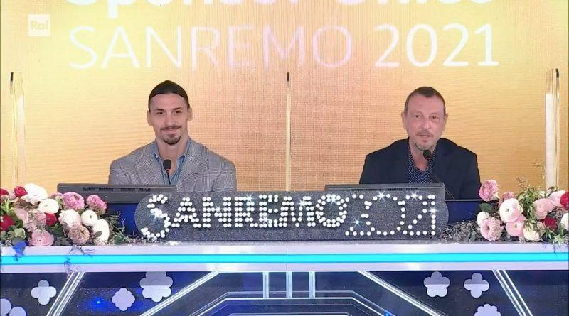 Festival di Sanremo 2021: conferenza stampa con Amadeus, Matilda De Angelis e Zlatan Ibrahimovic| martedì 2 marzo