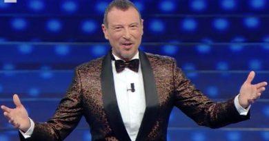 AMADEUS per la terza volta Conduttore e Direttore Artistico del Festival di Sanremo 2022